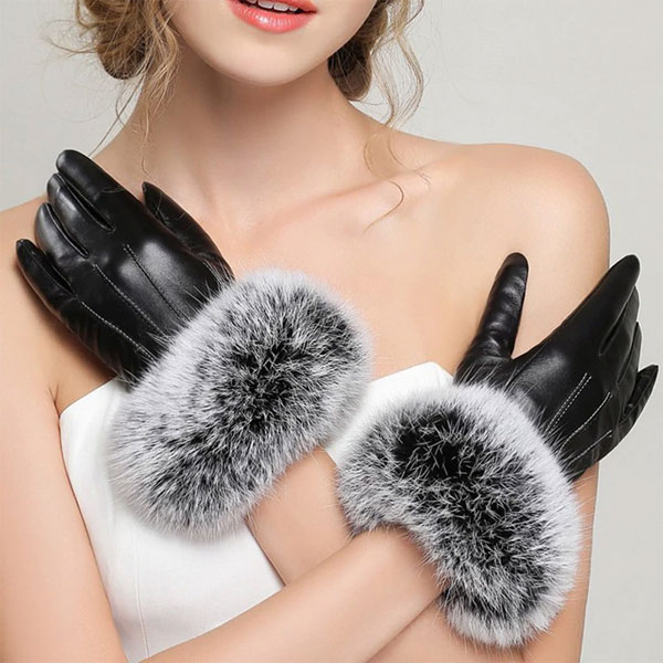 leather gloves Elvifra fashion accessories, handmade italian leather gloves, silk foulard made in italy