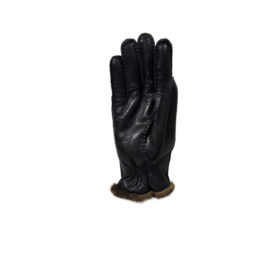 Men's leather gloves with fur - handmade in Italy Elvifra fashion accessories, handmade italian leather gloves, silk foulard made in italy