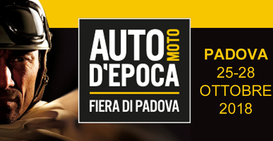 Elvifra at PADOVA Fair Classic Cars and Motorcycles - Italy October 2018