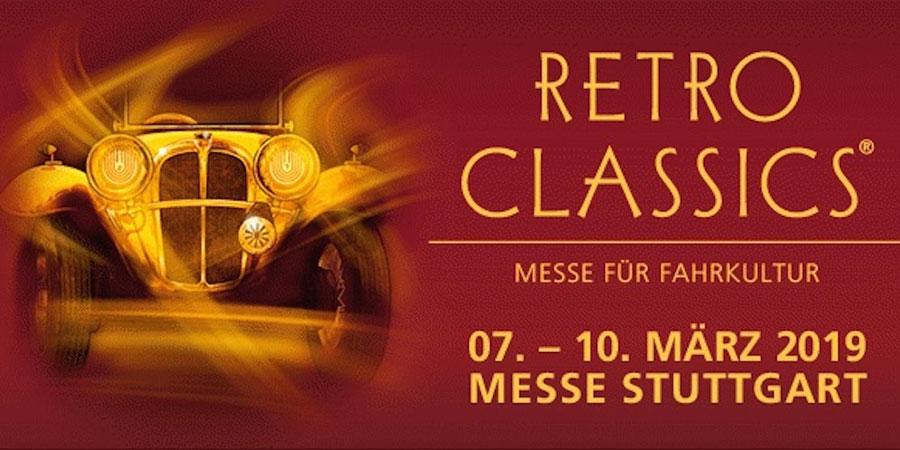 Elvifra at Stuttgart Retro Classics Fair - Germany March 2019