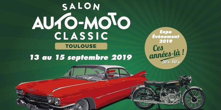 Elvifra at Salon Auto Moto Classic Fair - Toulouse June 2019