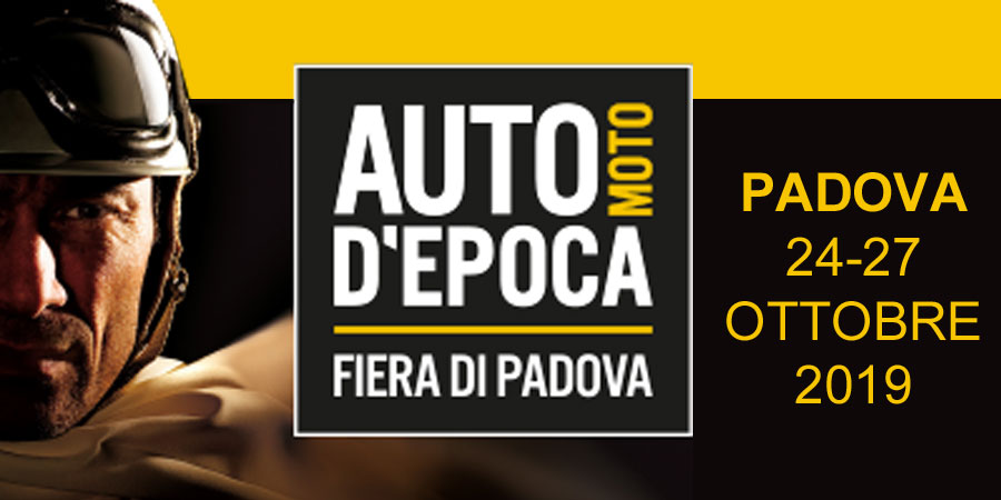 Elvifra at PADOVA Fair Classic Cars and Motorcycles - Italy October 2019