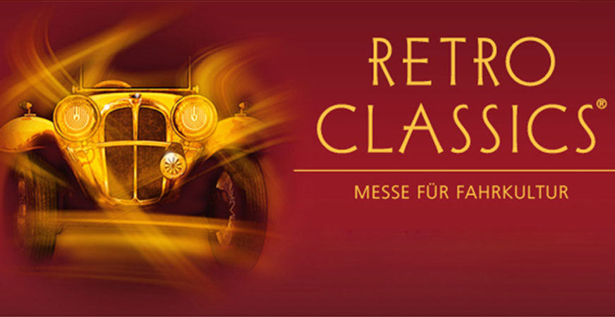Elvifra at Stuttgart Retro Classics Fair - Germany February 2020 fashion accessories, handmade italian leather gloves made in italy
